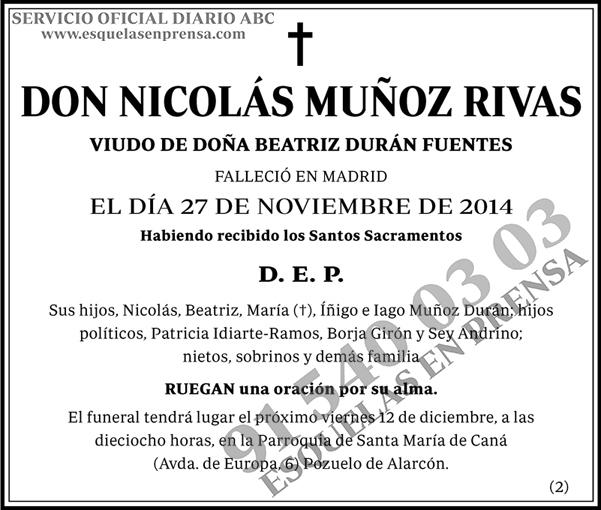 Nicolás Muñoz Rivas